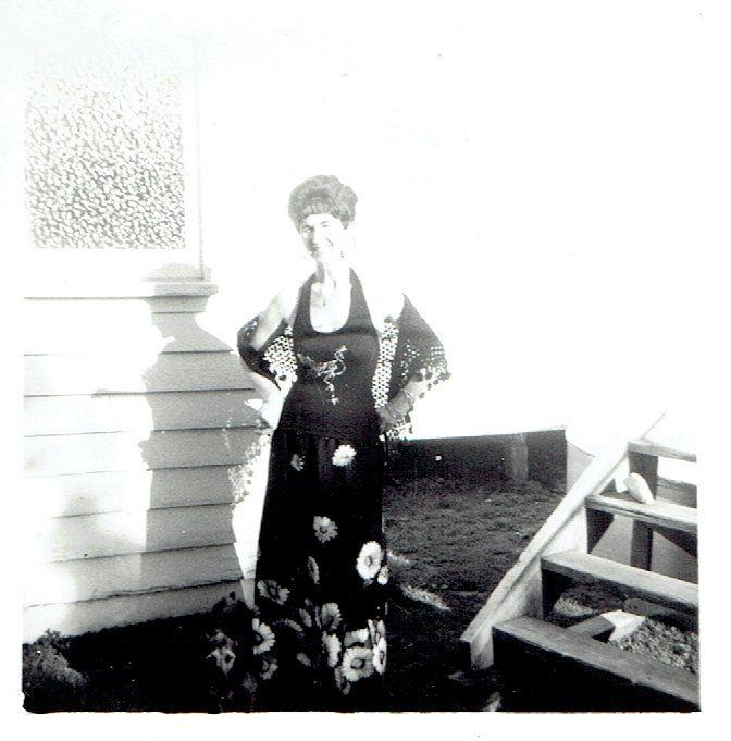 My mother, Elizabeth, 2 Rose St Upper Ferntree Gully 1970s