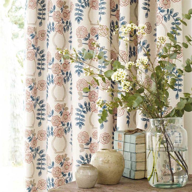 SANDERSON - ткани и обои из новой коллекции #sanderson_fabric