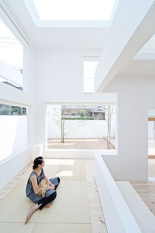 I'd love to have a chic well designed tatami area in my future home.  House N - Sou Fujimoto, Architect - Photographer: Iwan Baan
