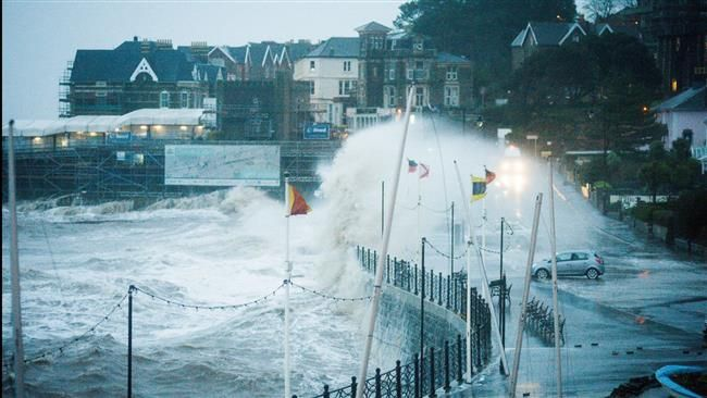02/09/2016 - Storm Imogen hit southern England, Wales