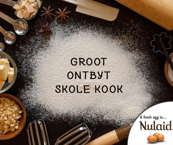 #Nulaid is proud be the official egg sponsor for #GrootOntbytSkoleKook! For full listing of episodes on #KykNet - click here: http://ablog.link/477. #FarmFresh #Eggs