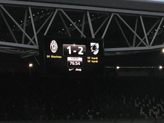 Juventus 1- 2 Sampdoria - Serie A 2012/13 #Sampdoria