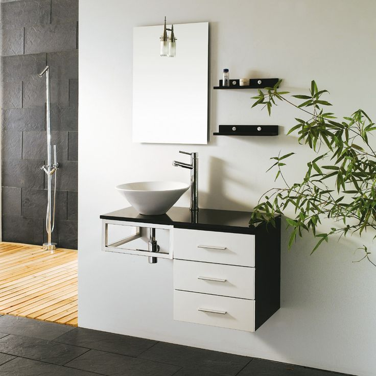 jjt trading vg603 ceramic bathroom vanity porcelain sinkwood mount