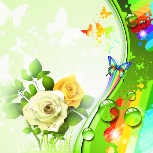 Http://freedesignfile.com/16006-colorful-flower-and