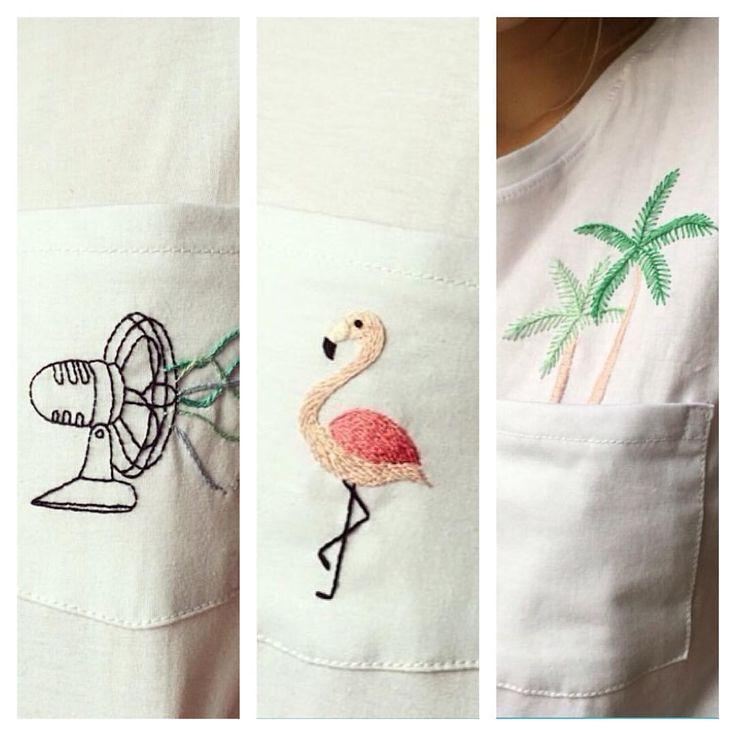 *english below* gostou das camisetas bordadas que lançamos neste final de semana? As primeiras unidades foram vendidas ontem na @fera_fera_ mas você pode encomendar a sua por email, com entrega...