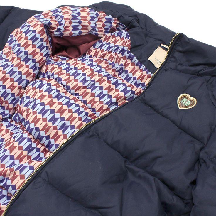 SCOTCH&SODA(スコッチ&ソーダ):R BELLE/ダウンジャケット ネイビー(002) の通販【ブランド子供服のミリバール】