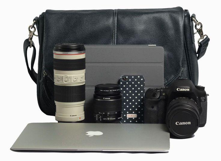 Betsy black women's camera bag | Jo Totes
