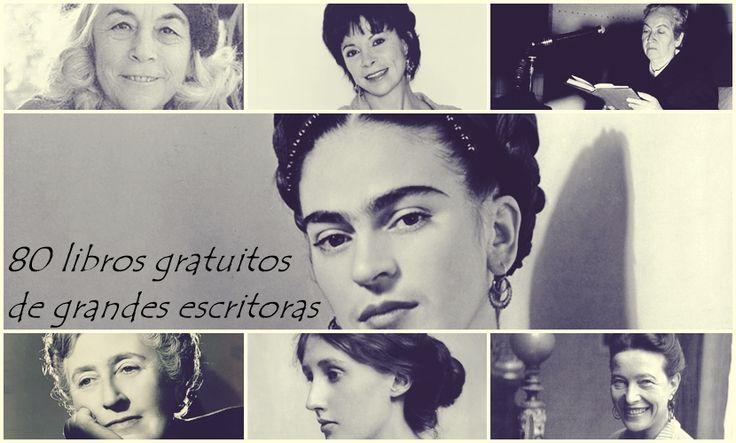 80 free books by women -- in Spanish.  80 libros gratuitos de grandes escritoras # Hace días celebrábamos el Día Internacional de la Mujer. En ese día en particular no os pusimos este artículo porque consideramos (o considero hablando en primera persona) que el día de la mujer deben ser …