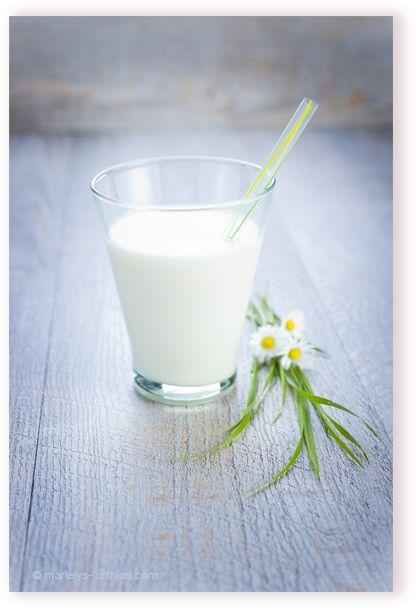 Verre de #lait - ambiance #bio, #nature,  #photographe #culinaire N'hésitez pas à « pinner »