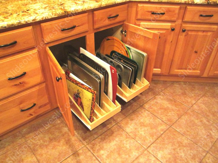 Slideoutshelvesllc Com Platter And Cooking Sheet Pull Out