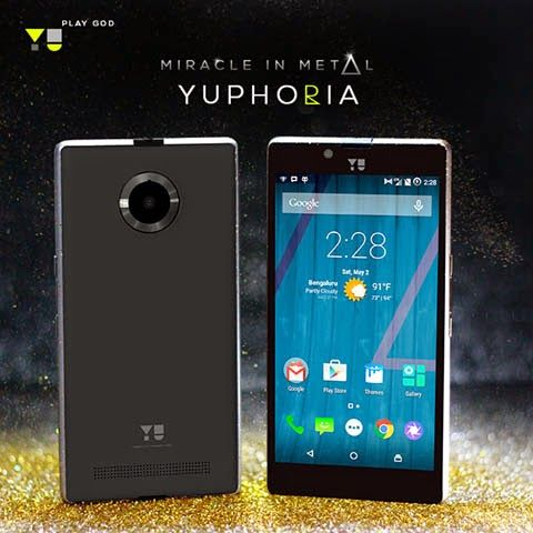 Micromax subsidiary Yu Televentures released its second smartphone on Tuesday, the much-anticipated Yu Yuphoria.