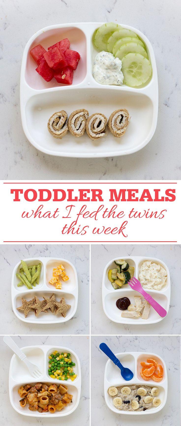 What I Fed The Twins This Week - Freutcake