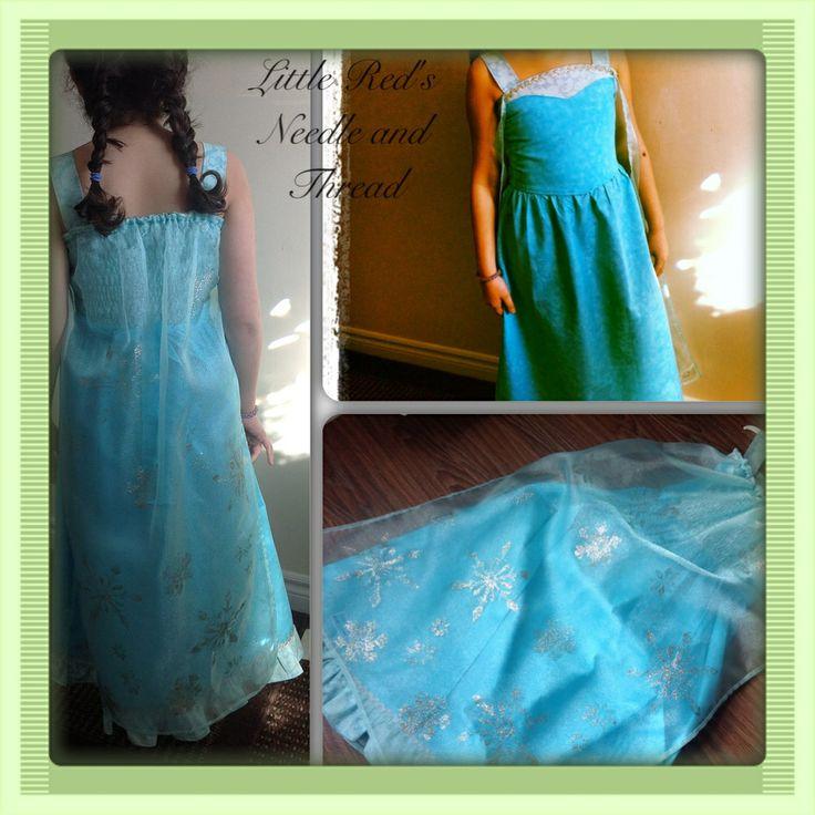 Frozen Elsa  inspired Dress