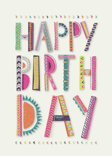 Rebecca Prinn - RP Typography Text Birthday