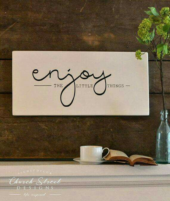 Image result for enjoy the little things sign Xmas gifts