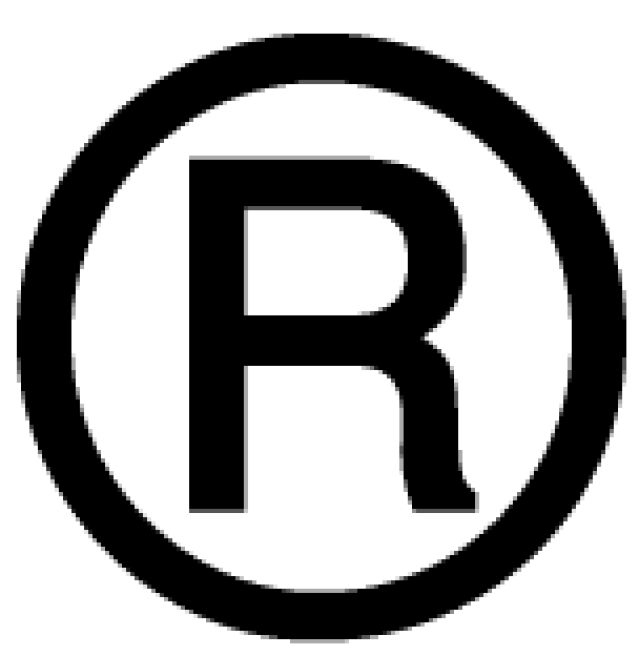 """A good """"trademark"""" name is a goldmine for business: Registered Trademark Symbol"""