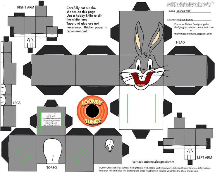 et... quoi de neuf, docteur ?... (LT1: Bugs Bunny Cubee by ~TheFlyingDachshund on deviantART)