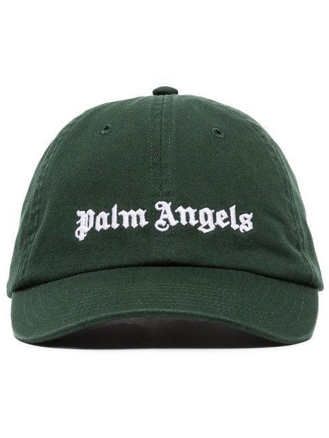 8db00d68cf2 PALM ANGELS PALM CLSSC CAP DRK GRN LOGO.  palmangels  bags  cotton ...