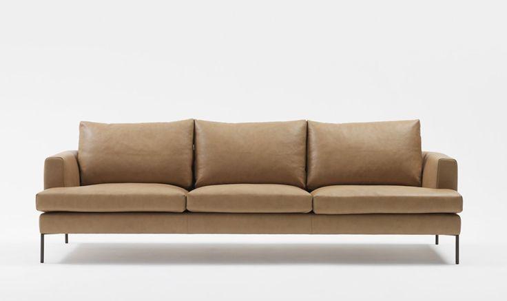 Camel Bungalow Leather - Jardan