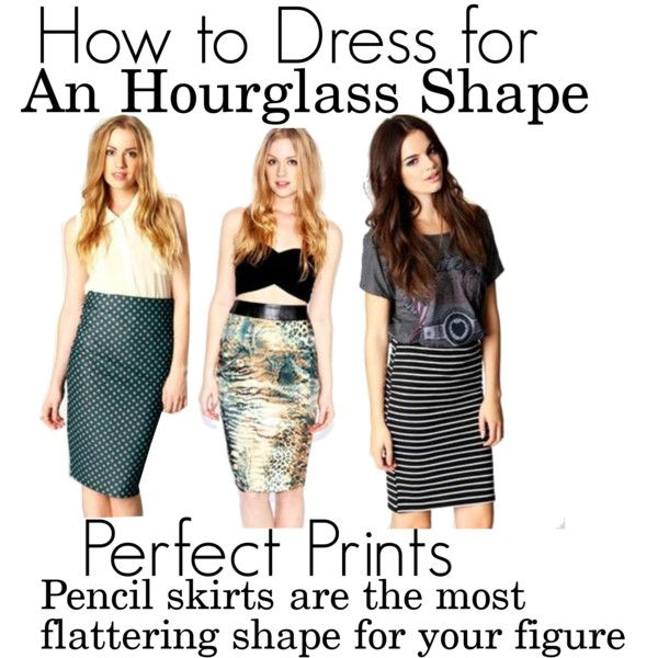 How To Dress For Your Shape: Hourglass, created by #boohoofashion on #polyvore