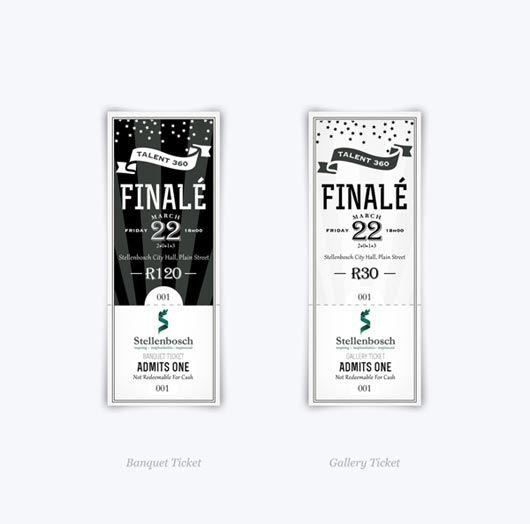 Ticket Designs