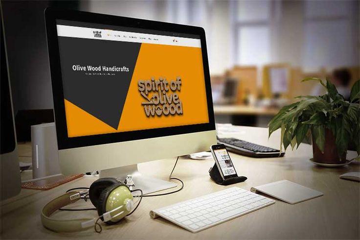 Spirit of olive wood – Σχεδιασμός και κατασκευή ηλεκτρονικού καταστήματος