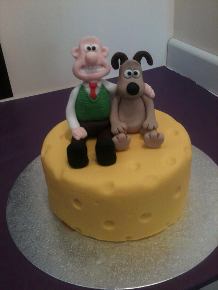 Wallace And Gromit Birthday Cake Topper