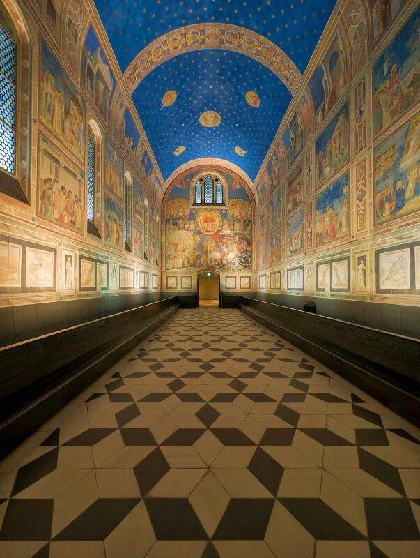Cappella Scrovegni, Padua, Italy Frescoes by Giotto