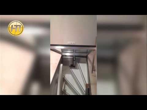 RVS op maat: een automatische luik voor de kelder | HTI Ede