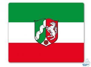 Nordrhein-Westfalen Flagge Mousepad