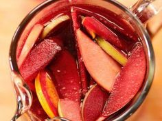 """Fall Sangria (A Barefoot Thanksgiving) - Bobby Flay, Guest On """"Barefoot Contessa"""" on the Food Network."""