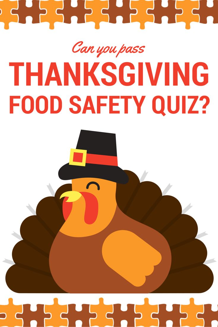 Can you pass this Thanksgiving Food Safety Quiz?