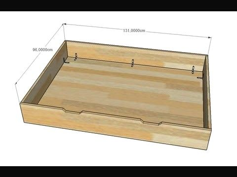 fabriquer tiroir plinthe cuisine - Bing en 2020 | Lit rangement, Rangement tiroir, Rangement ...