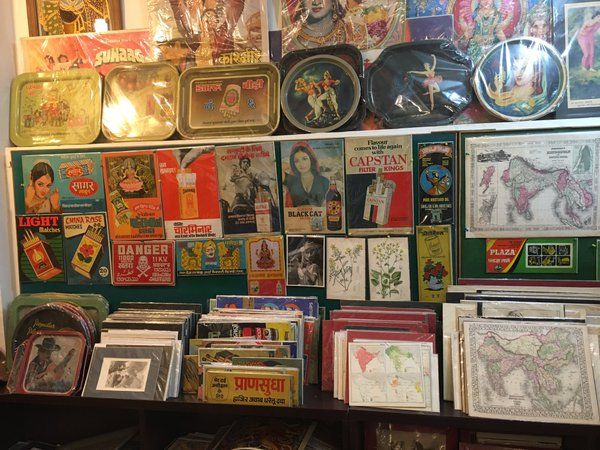 Shop for vintage movie posters and maps in Hauz has in #delhi.