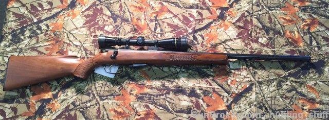 """J.G. Anschutz 1432 22 Hornet 24"""" Bull BBL Leupold : Bolt Action Rifles at GunBroker.com"""