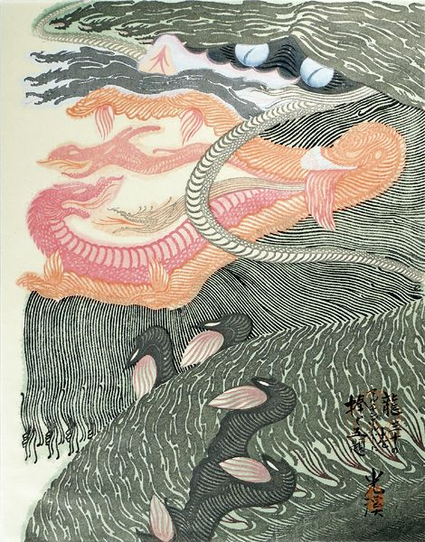 """Dedicated to Arcimboldo"" series / Dragons by Tsuruya Kokei  | 〈アルチンボルドに捧ぐ五題〉の内 龍 弦屋光溪"