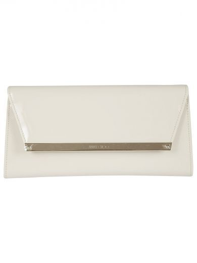 99005977e55e JIMMY CHOO Jimmy Choo Margot White Patent And Suede Clutch Bag.  jimmychoo   bags  shoulder bags  clutch  patent  suede  hand bags    creamsuedeclutchbag