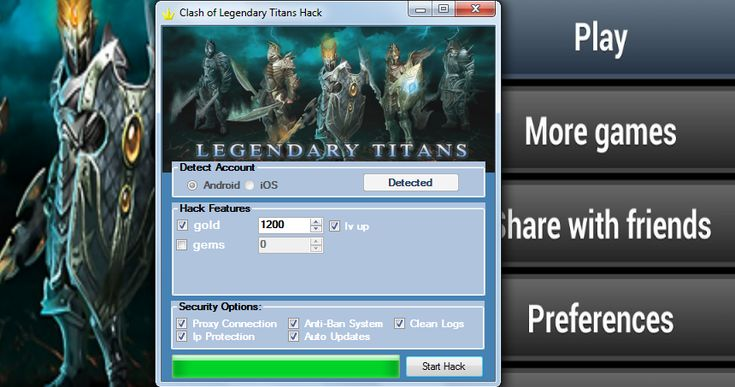 Clash of legendary titans hack cheat in 2021 cheating