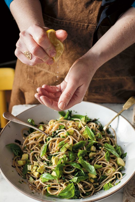The Pool   Food and home - Avocado lemon spaghetti