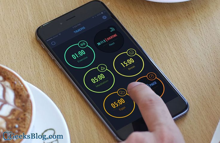 #MultiTimer iPhone #App: Multiple Countdown Timer with Alarms to Make the Best out of Your Time