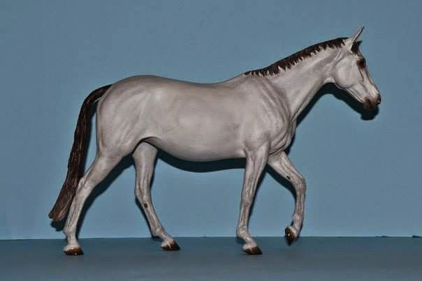 Resin Horse Editions: painted by Anna Zaharenkova