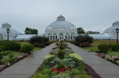 Buffalo Botanical Gardens - so happy to have gotten married here :-)