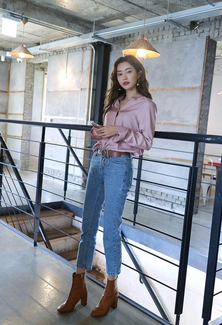 korea daily style fall&winter season #stylenanda2016 #parksora