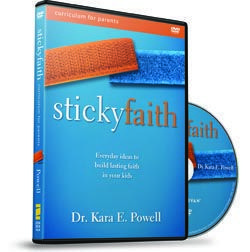 Sticky Faith Parent Curriculum guides parents in helping children develop a strong and vibrant faith that continues through adulthood. Definitely purchasing this-- or the accompanying book!