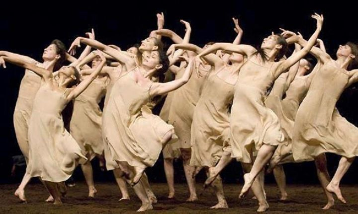 "Pina Bausch choreograhy, Stravinsky's  ""Le Sacre du Printemps"""
