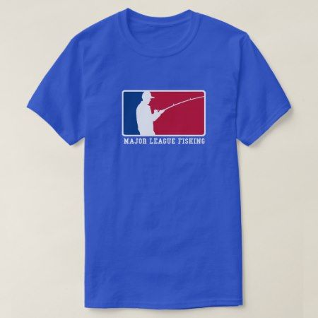 Major League Fishing T-Shirt - click/tap to personalize and buy