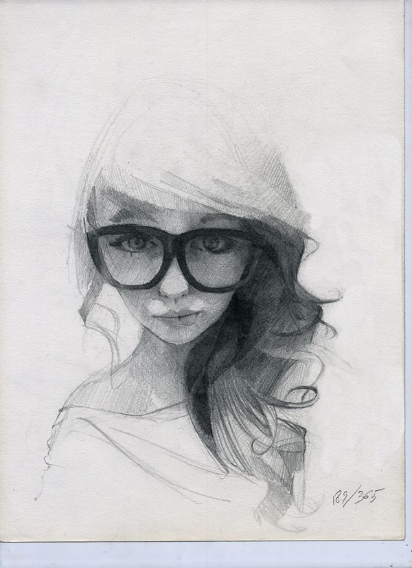 365 sketches – July 2013 – selection on Behance