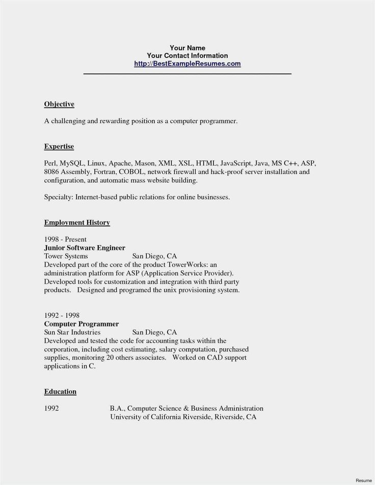 San Diego Resume Service Inspirational Free Collection