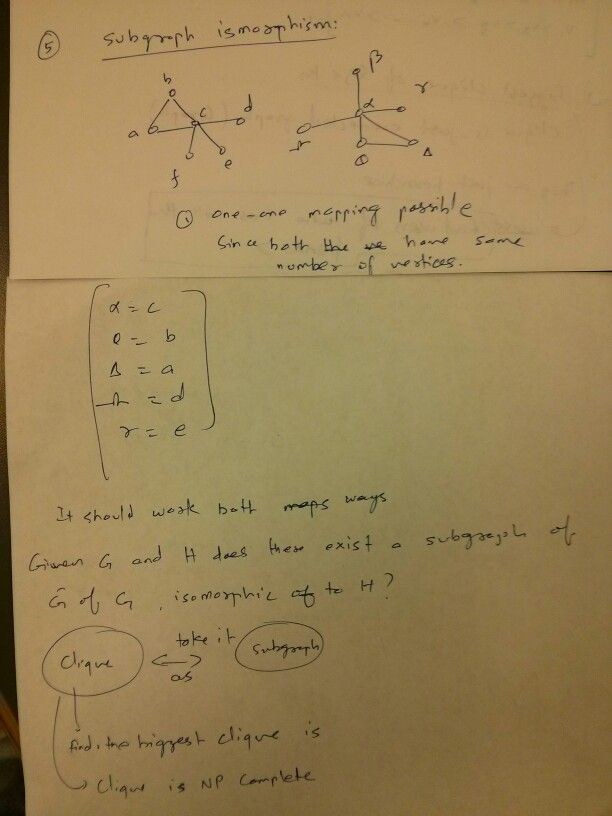 Subgraph Isomorphism is NP Complete
