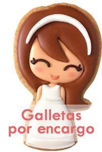 Conejito de Pascua (galletas decoradas con chocolate) | Little Wonderland